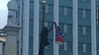 Woman Arrested Removing Confederate Flag From S.C. Capitol - Newsy
