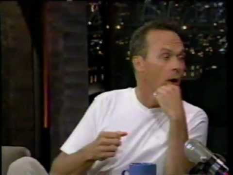 Late Show with David Letterman 1996 - Michael Keaton and Ving Rhames (with commercials)