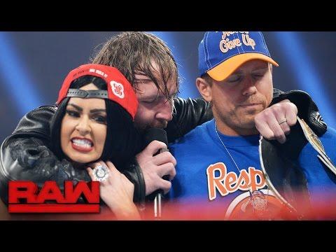 'John Cena' and 'Nikki Bella' arrive on Raw: Raw, April 10, 2017