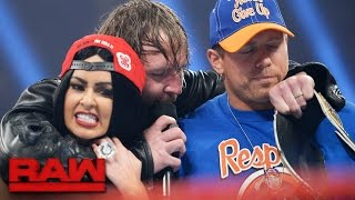 """John Cena"" and ""Nikki Bella"" arrive on Raw: Raw, April 10, 2017"