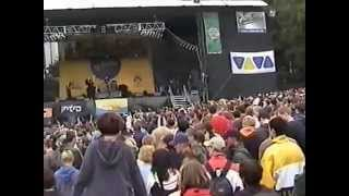 Der Klan beim Splash Festival 2000 Lord Scan Germany Italo Reno Dj Rick Ski