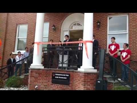 Princeton's Entrepreneurial Hub Ribbon-Cutting Ceremony - 11/11/15