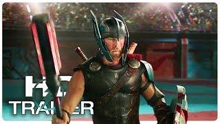 Thor Ragnarok Team Thor Fight Trailer NEW (2017) Chris Hemsworth Superhero Movie HD