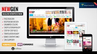 видео Newsmag - новостная тема для WordPress