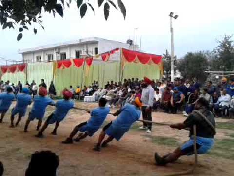Tug of war Match Punjab Power And Haryana Power