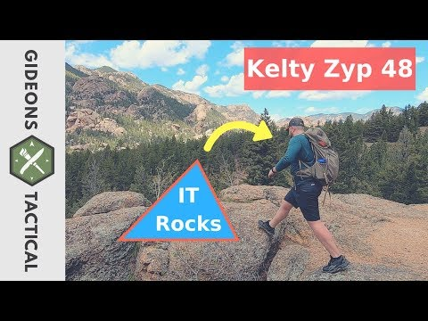 Wow New Tech That Rocks: Kelty Zyp 48 Backpack