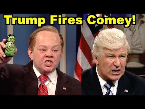 Trump Fires FBI Dir Comey! - Melissa McCarthy, Alec Baldwin & MORE! LV Sunday LIVE Clip Roundup 212