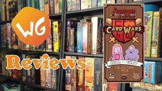 weaponsgrade review adventure time card wars princess bubblegum vs lsp