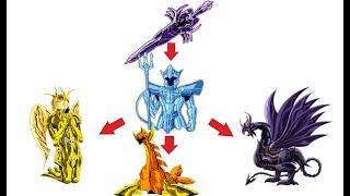 Explicación: TODOS los Tipos de Armadura (Parte 1) - Caballeros del Zodiaco / Saint Seiya