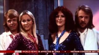 ABBA Reunited - BBC World News TV Package + BBC NEWS CHANNEL Air 21/01/2016