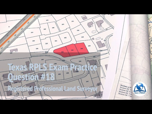 Texas RPLS Test Prep Review #18: Boundary Surveying in a Platted Subdivision - To Proportion or Not?