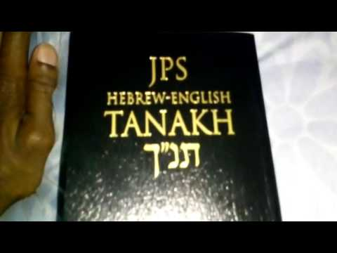 JPS Hebrew English Tanakh REVIEW