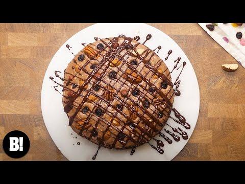 CHOCOLATE FRUIT & NUT CAKE | BOSH! | VEGAN