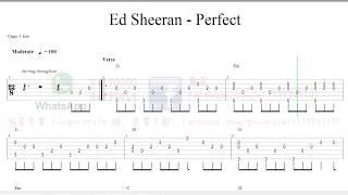 Perfect - Ed Sheeran [Fingerstyle] 木結他獨奏