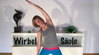 Wirbelsäulen - Gymnastik mit Gabi Fastner