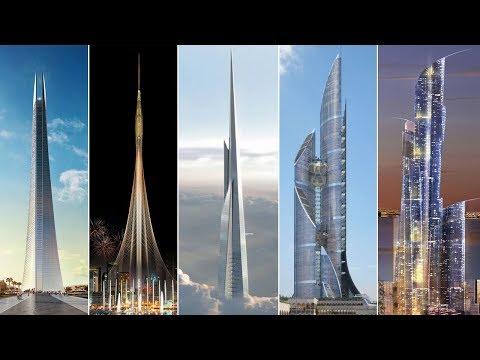 """أطول الأبراج """"المستقبلية"""" في العالم العربي  برج المملكة برج العروس ....."""