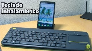 Logitech K400 PLUS compatible con Android/IOS/Windonws/linux - Spanish