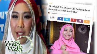 Oki Setiana Dewi Jawab Tudingan Petisi Tentang Dirinya - Part 1 (1/3) - WasWas 03 Mei 2016