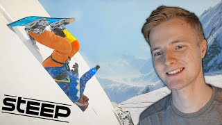 MEGET STEJLT! // Steep PS4 [Dansk] (Reklame for PlayStation Now)