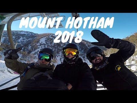 Mount Hotham // Snowboard Adventure // HD GoPro