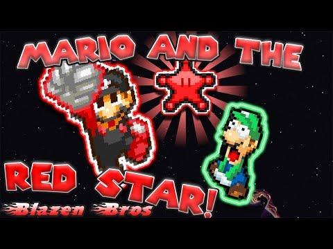 Mario and the Red Star! [Sprite Animation] | Blazen Bros