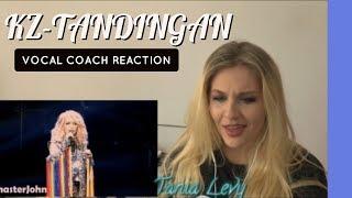 VOCAL COACH |REACTION| KZ TANDINGAN|Carpenters - Close to you