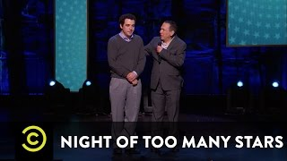 "Night of Too Many Stars - Gilbert Gottfried and Owen Suskind Perform ""Aladdin"" - Uncensored"