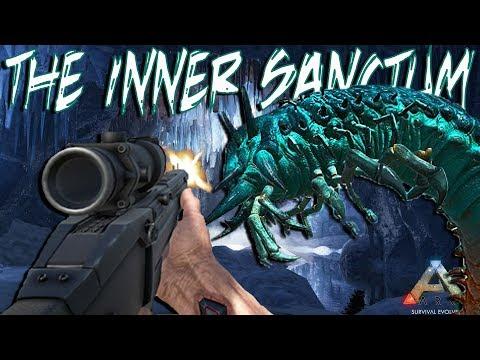 Ark: Survival Evolved - Ragnarok: The Ice Worm Queen