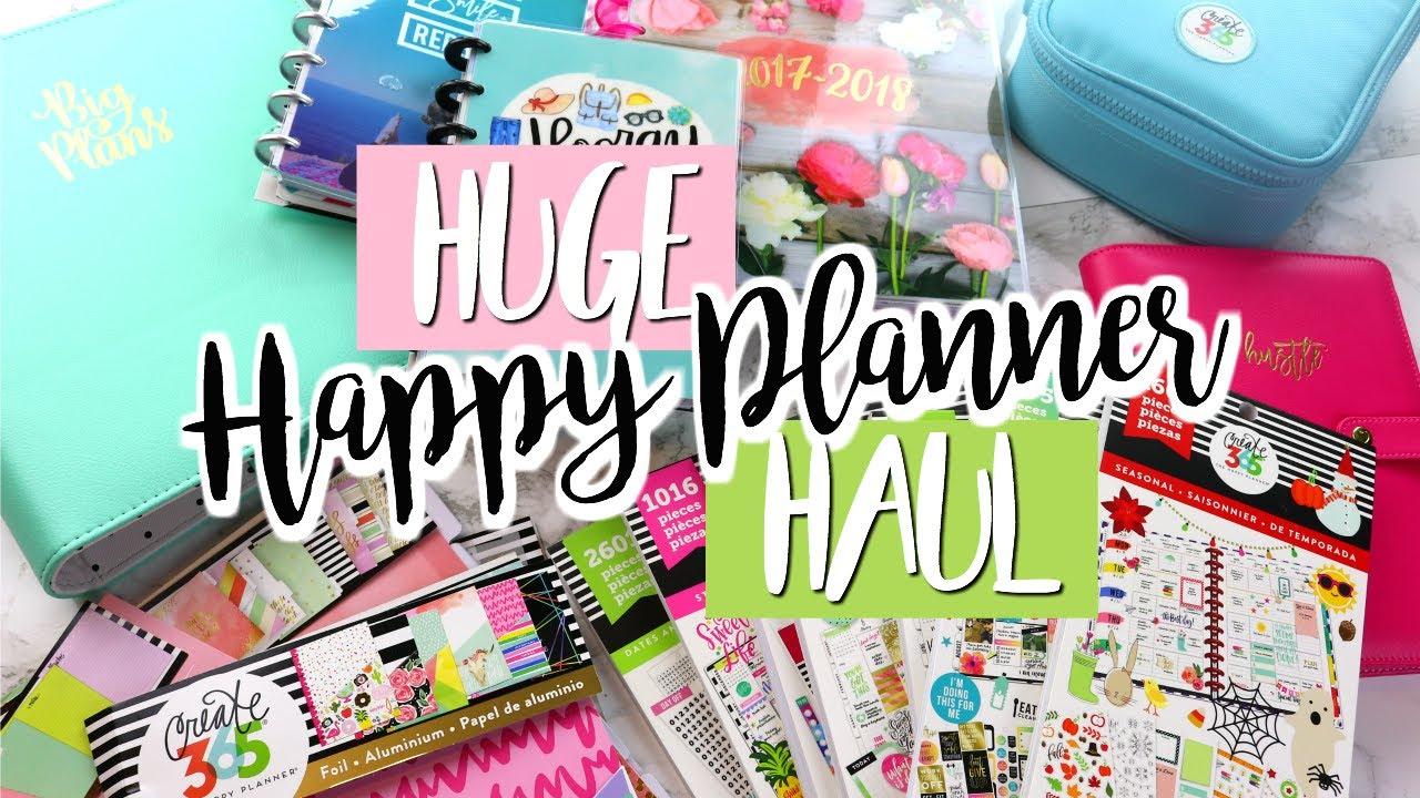 New happy planner accessories haul belinda selene youtube for Happy planner accessories