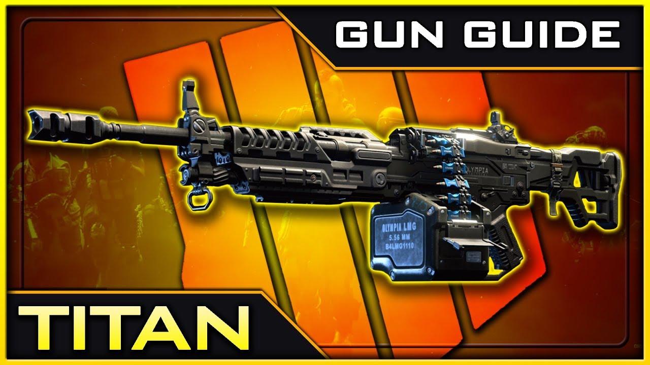 Titan Stats & Best Class Setups! | Black Ops 4 Gun Guide #9