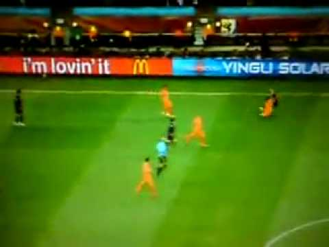 Terrible fouls (Netherlands vs Spain) World cup 2010 final