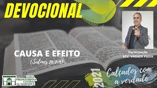 Devocional | CAUSA E EFEITO | 13/07/2021