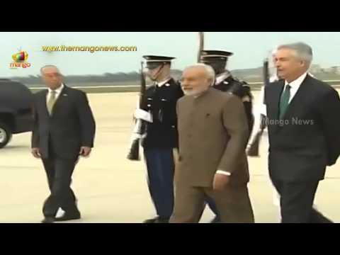 PM Narendra Modi arrives in Washington DC to meet US President Barack Obama in White House