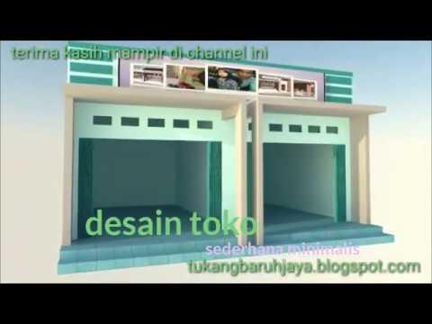 Desain toko bangunan sederhana - YouTube