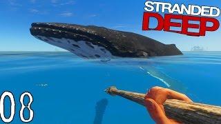 RENCONTRE AVEC UNE BALEINE ! | Stranded Deep ! #Ep8