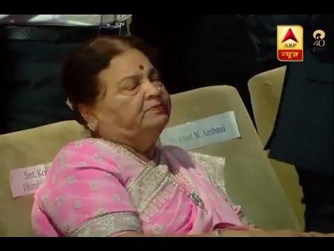 Kokilaben Ambani breaks down as Mukesh Ambani pays tribute to Dhirubhai Ambani at 40th AGM