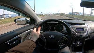 2012 Hyundai Elantra 1.6l Pov Test Drive