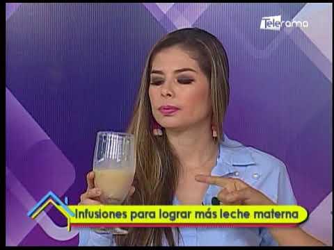 Infusiones para lograr más leche materna