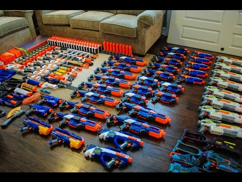 AWESOME NERF COLLECTION!
