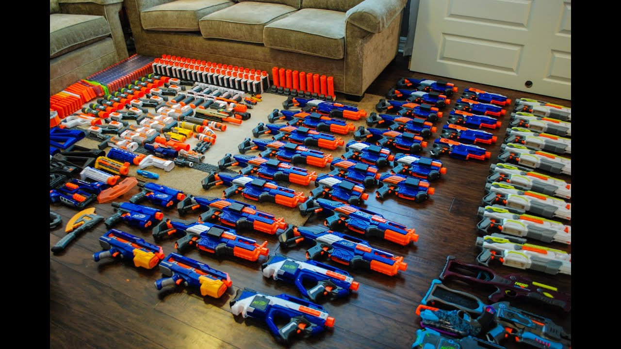 Awesome Nerf Arsenal Youtube