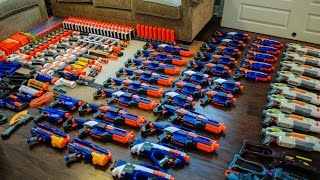 AWESOME NERF ARSENAL!