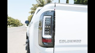 Spyder Auto How to Install: 2015-2017 Chevy Colorado LED Lightbar Taillights