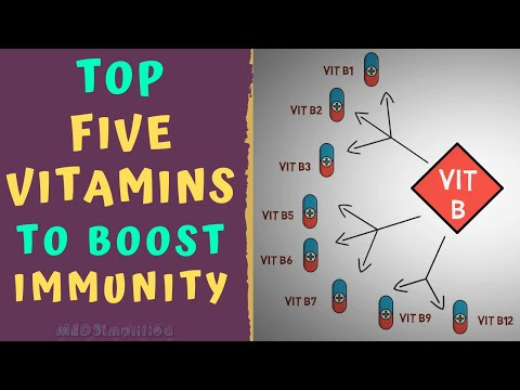 Top 5 Vitamins To Boost Immunity How To Strengthen Immune System Youtube