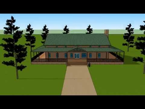 Huge Barndominium with wraparound porch  YouTube