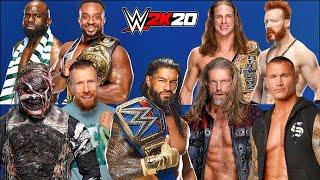 WWE 2K20 Wrestlemania Gameplay | WWE 2K20 Wrestlemania Night 2 Matches Gameplay ||