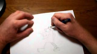 Speed Drawing Hong Kong Phooey