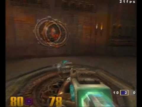 Raspberry Pi booting and running Quake 3 Demo