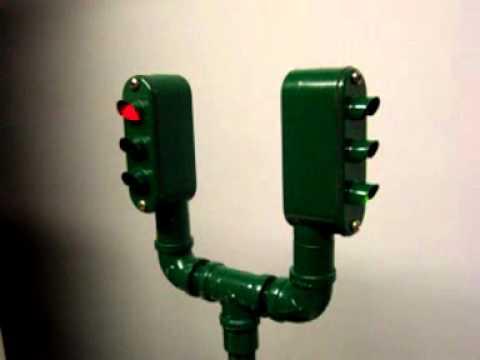 2 Way Traffic Light Lamp   YouTube