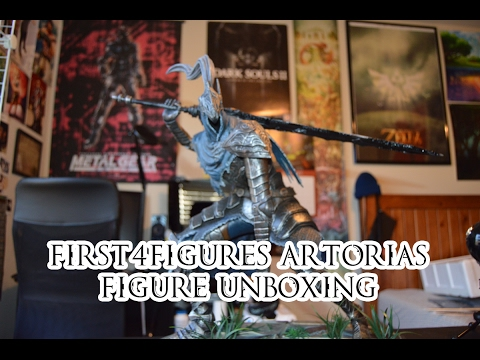 "First4Figures ""Artorias of the Abyss"" Figure Unboxing"