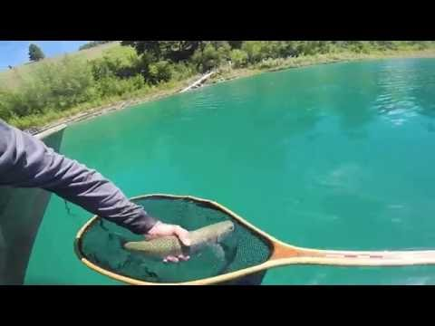 Fly Fishing Crater Lake B.C